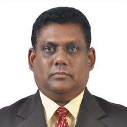 Senior Professor (Chair) H.D. Karunaratne