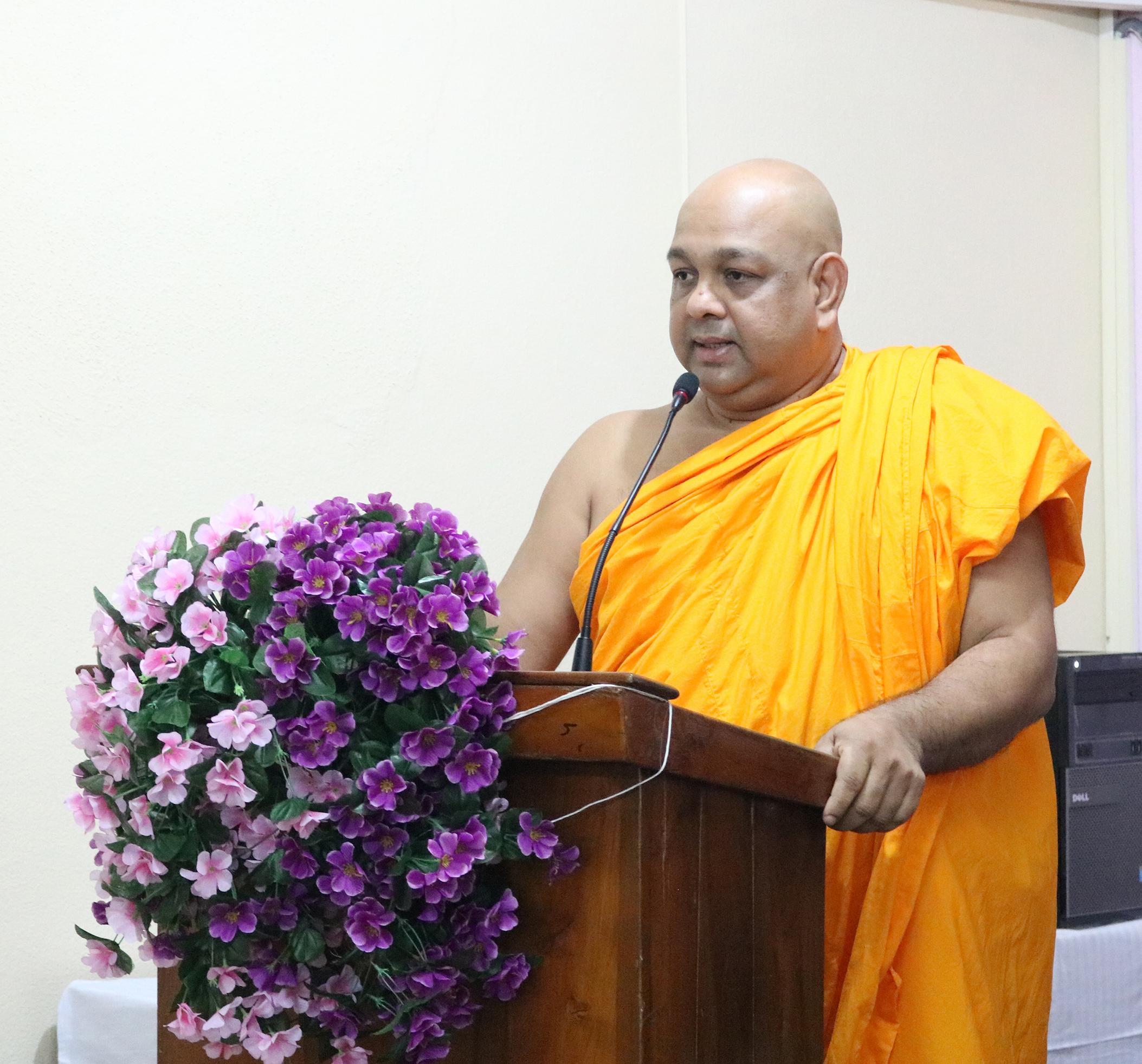 Ven. Senior Professor M. Dhammajothi Thero