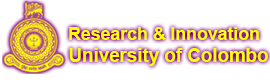 Search Researchers | Research Dashboard - University of Colombo