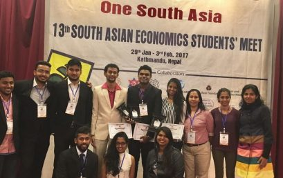 Economics Undergraduate wins the Best Research Paper Award at SAESM – Nepal