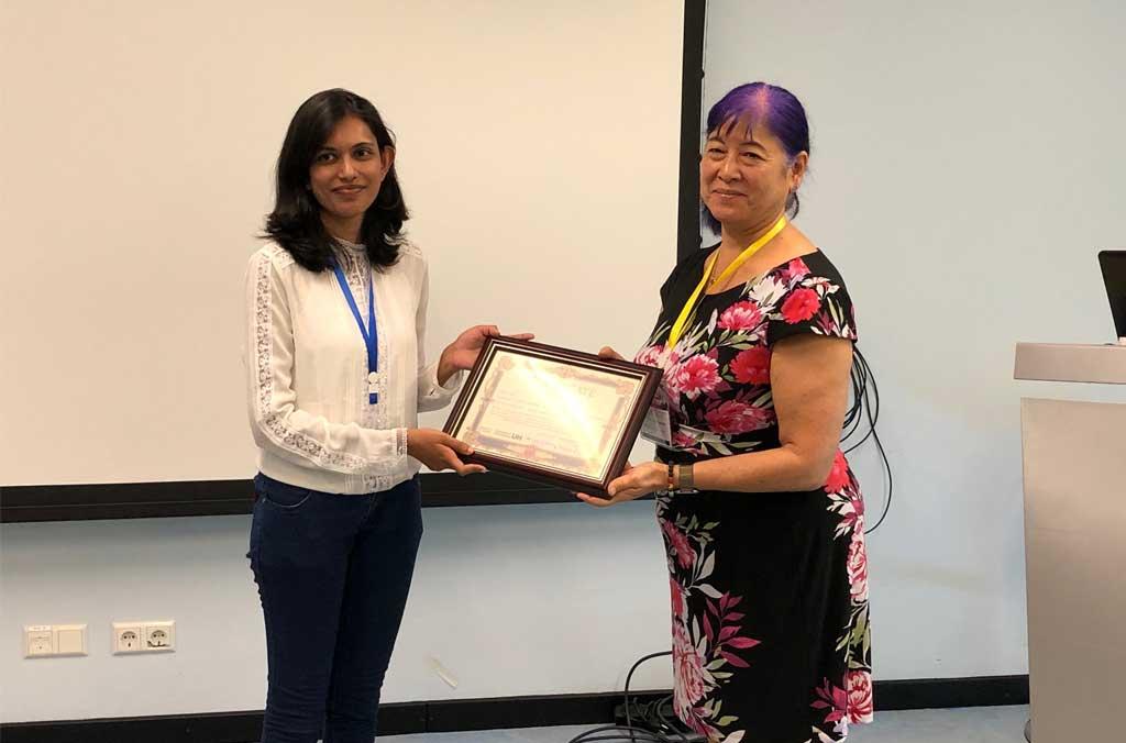 ICDLE 2019 – Best Presentation Award