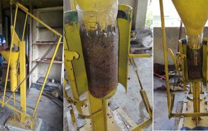 Development of a Mushroom Bag Filling Machine